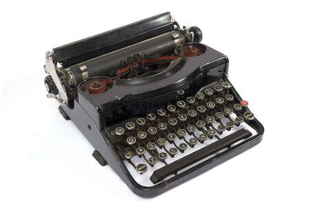 easily: Old easily portable metal typewriter