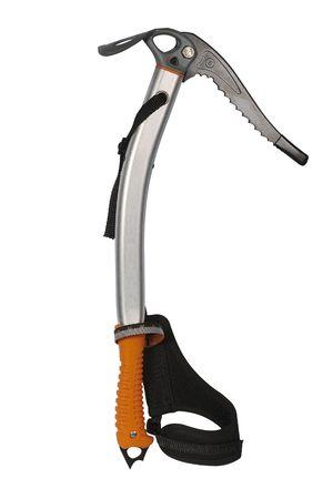ice axe: Modern ice axe of climbing of aluminum