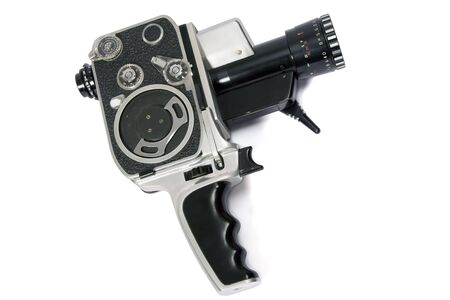 Klassik 8mm-Film-Kamera-Handbuch  Standard-Bild - 1868727