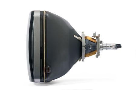 Tube der traditionellen Fernseh-Monitor crt  Standard-Bild - 1807888