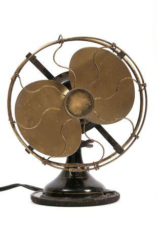 Alte Elektro-schwarz metallic Ventilator Standard-Bild - 1933362
