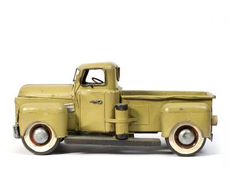 Modell des alten LKW aus Weißblech Standard-Bild - 2257225