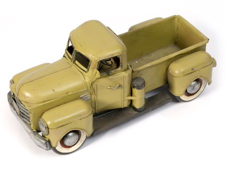 tinplate: Model of ancient truck made with tinplate