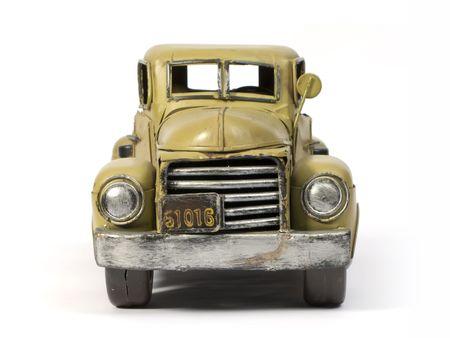 Modell des alten LKW mit Weißblech Standard-Bild - 2257228