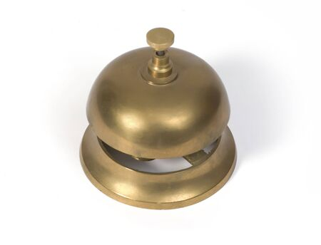 Classic bell of the reception of a hotel