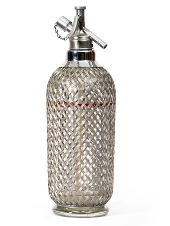 Alte Soda Syphon wurde mit Glas und Metall gemacht. Standard-Bild - 2310289