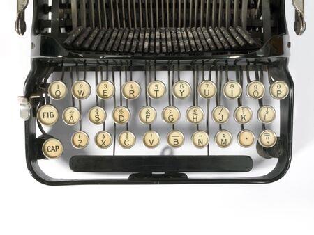 the typewriter: Antiguo f�cilmente la m�quina de escribir port�til de metal