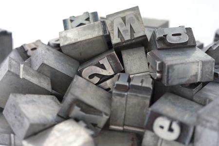 Drucker blockiert. Nieder-und Großbuchstaben.  Standard-Bild - 2436076
