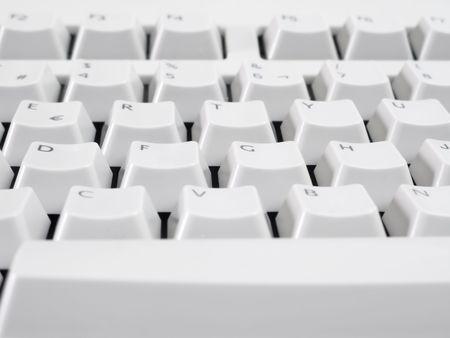Macro shot of computer keyboard. Stock Photo - 3379539