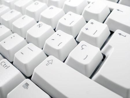 Macro shot of computer keyboard. Stock Photo - 3379542