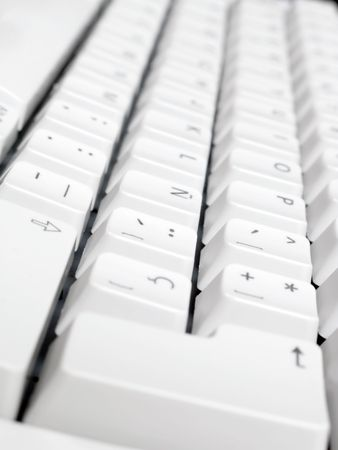 Macro shot of computer keyboard. Stock Photo - 3379543