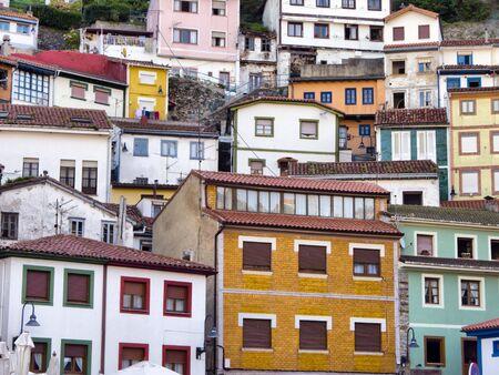fishing village: Fishing village. Cudillero, Asturias, Spain.