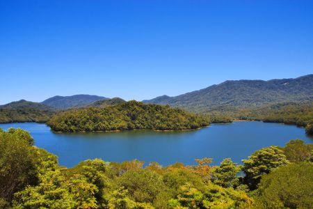 morris: Copperlode Dam (Lago di Morris) a Cairns Australia
