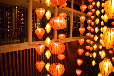 vietnum lantern festival fue hoi-an beautiful light