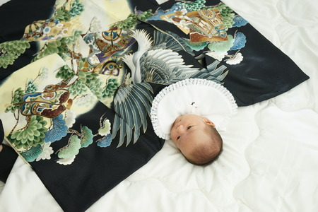 miyamairi Japanse viering voor baby