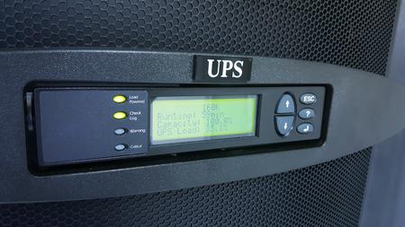 digital control panel power supply for data center Standard-Bild
