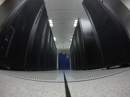 domains: wide angle view data center