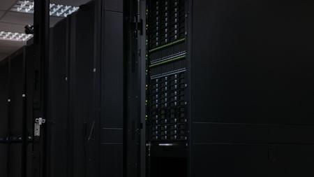 Server and disk storage in dark data center