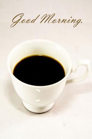 good: Good morning. Stock Photo