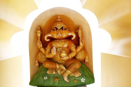 Ganesha, the art of Hinduism.