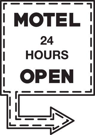 Motel Hostelry Icon Vectores