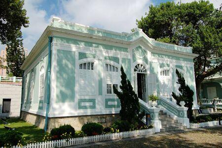 casa colonial: Uno de la casa colonial en las Casas-Museo de Taipa