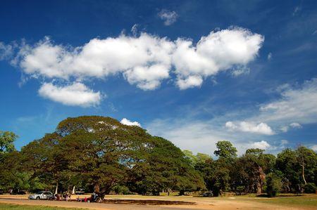 skyscape: Skyscape de Prasat Suor Prats, Siem, Reap, Combodia