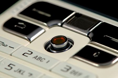 The close up shot of mobile keypad Stock Photo - 965129