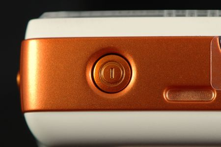 The detail of power button of mobile phone Stock Photo - 965131