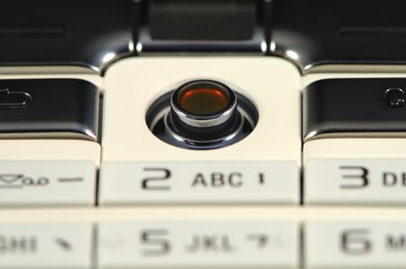 The close up shot of mobile keypad Stock Photo - 1355926