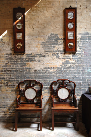 The sitting room of traditional Chinese furniture photo