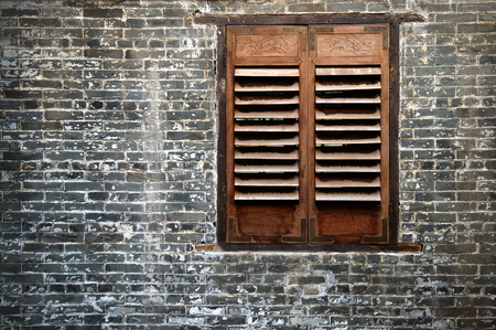 Abstract of traditional Chinese house and the window Stock Photo - 1564545