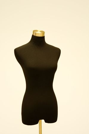 The detail of tailor or dressmaker dummy Stock Photo