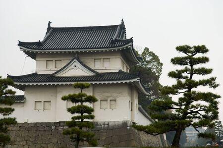 nijo: The Japaness castle, Nijo Castle, in Kyoto city