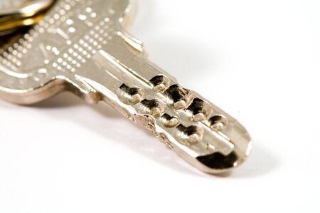 latchkey: Closeup of key