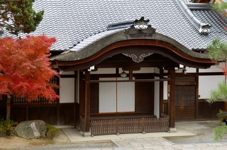 dera: The construction in Kiyomizu Dera Temple, Kyoto, Japan