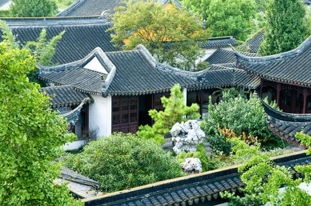 View of antique houses from zhouzhuang, in China photo