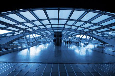 station m�tro: L'architecture de conception du train moderne (m�tro) station �ditoriale