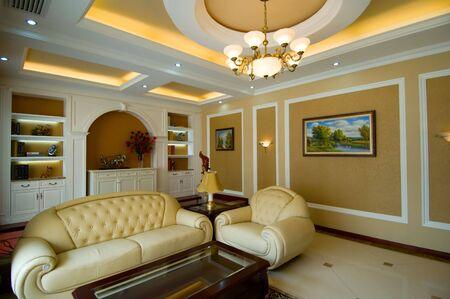 Living room of luxury modern house Stock Photo - 6109219