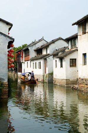 The water town in China, Zhou Zhuang photo