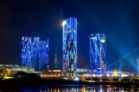 macau: SHANGHAI - JUNE 1: Opening of City of Dream. June 1, 2009 in Macau China.  Editorial