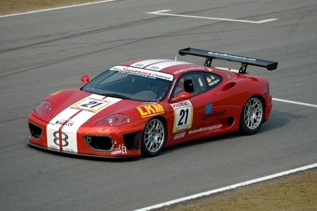 A1GP World Cup of Motorsport: Car Racing at Zhuhai, China