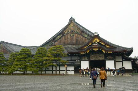 nijo: The construction in Nijo Castle, in Kyoto city