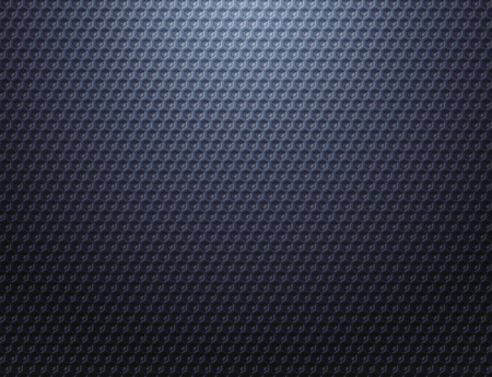 Dark blue grey metal grid pattern wallpaper Stock Photo