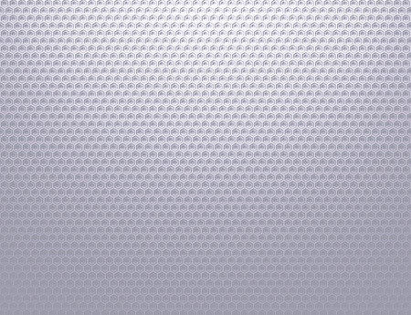 Soft silver grey metal grid pattern wallpaper