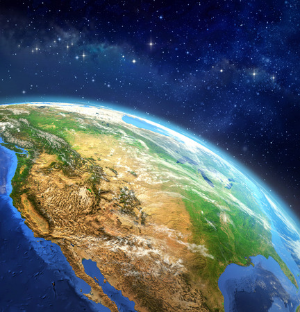 earth: Face of the Earth. Very high definition picture of planet earth in outer space. Elements of this image furnished by NASA