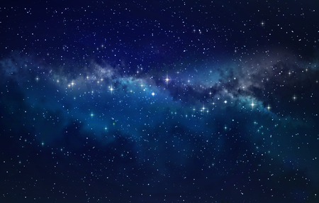 Deep space. High definition star field background Reklamní fotografie - 39206278