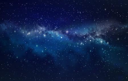 lucero: Espacio profundo. Alta definici�n fondo del campo de estrella