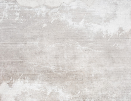 Concrete white wall texture background, stained and marbled