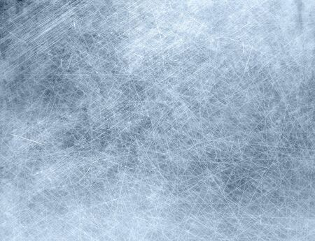 scratched metal: Metal grunge texture background, stained and scratched Stock Photo